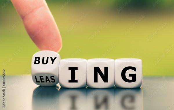 """leasing"" to ""buying"", or vice versa"